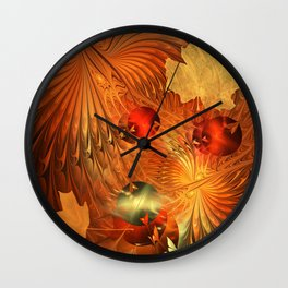 Fall Splendour Wall Clock