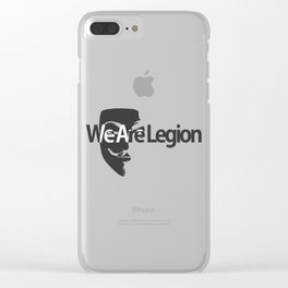Legion Clear iPhone Case
