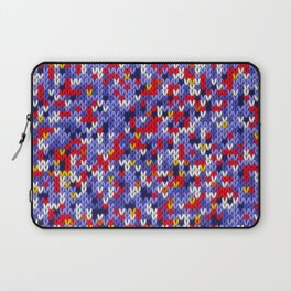 Knitted multicolor pattern 2 Laptop Sleeve