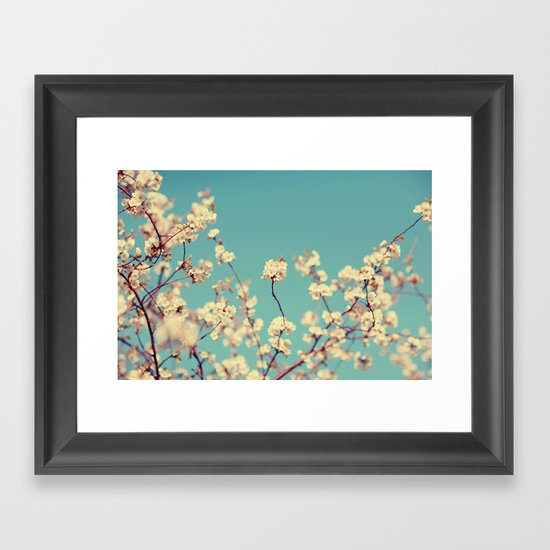 Not A Cloud In The Sky Framed Art Print