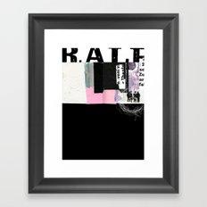 ROUGHKut#042516 Framed Art Print