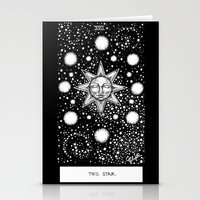 tarot Stationery Cards featuring Star Tarot by Corinne Elyse