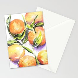 Sweet Clementines Stationery Cards