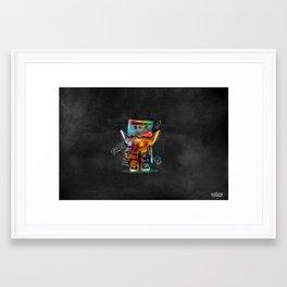 Funky but Deadly Framed Art Print