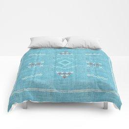 Casablanca Aqua Kilim Comforters
