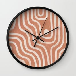 canyon flow Wall Clock