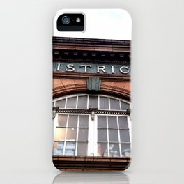 Earl's Court Station iPhone Case