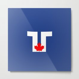 Flag of Toronto Metal Print