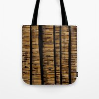 woody Tote Bags featuring woody by colli1 3designs