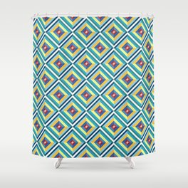 Crown jewel pattern Shower Curtain