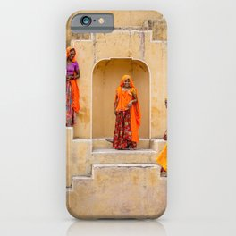 Amber Stepwell, Rajasthan, India iPhone Case