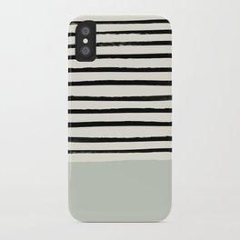 Coastal Breeze x Stripes iPhone Case