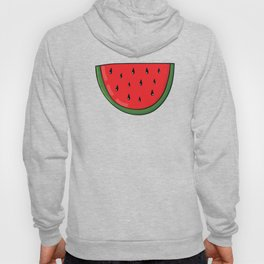 Colorful hand drawn juicy watermelon Hoody