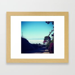 Over the Top Framed Art Print