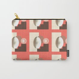 Ab ovo living coral Carry-All Pouch