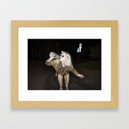 Spilled Milk Framed Art Print