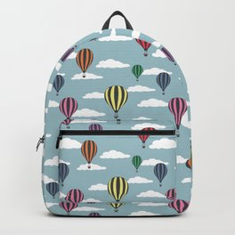 Colorful hot air balloons Backpack