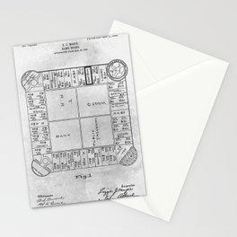 First Monopoly Stationery Cards