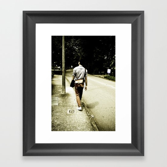 His and Her Journey Framed Art Print