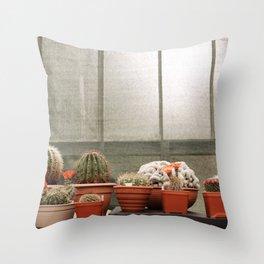 glasgow gardens Throw Pillow