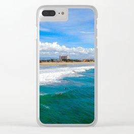 Huntington Beach Surfers Clear iPhone Case