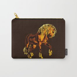 HORSES-Golden Palomino Carry-All Pouch