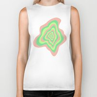 watermelon Biker Tanks featuring Watermelon by Popsicle Illusion