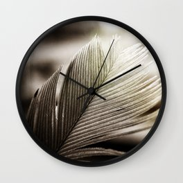 Feather Tip Wall Clock