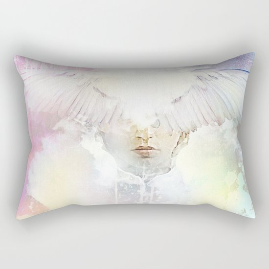 The guardian of dawn Rectangular Pillow