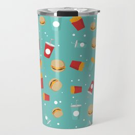 Burgers pattern Travel Mug