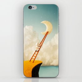 A Ladder to the Moon iPhone Skin