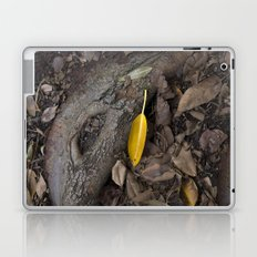 lone yellow leaf  Laptop & iPad Skin
