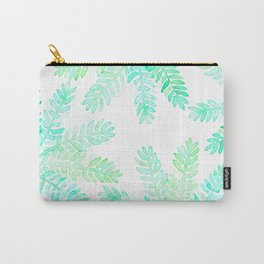 Leafy green allover pattern Carry-All Pouch