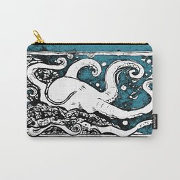 Shiny Metal Thing Octopus Carry-All Pouch