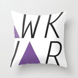 awkward Throw Pillow