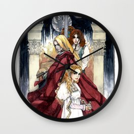 The Vampire Family of Anne Rice Wall Clock