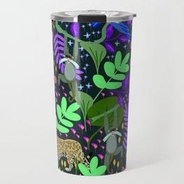 Jungle Pattern Travel Mug