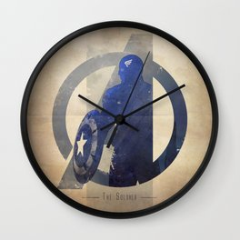Avengers Assembled: The Soldier Wall Clock