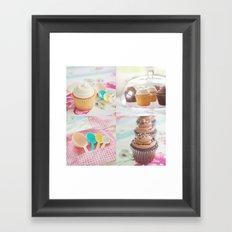 Cupcake Lover Framed Art Print