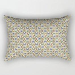 Groovy Bus Crazy Rectangular Pillow