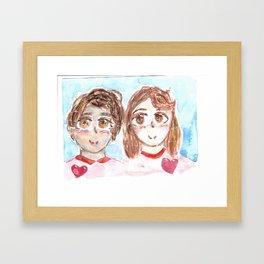 Old Friends Framed Art Print