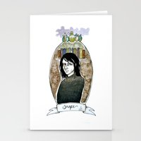 snape Stationery Cards featuring snape by hille