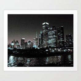 Night-time Chi Art Print