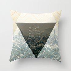 bukowski Throw Pillow
