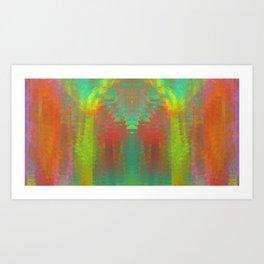 Pineapple Melt Art Print