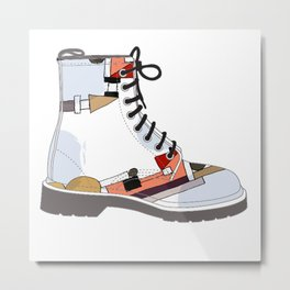 I love my Docs  Metal Print