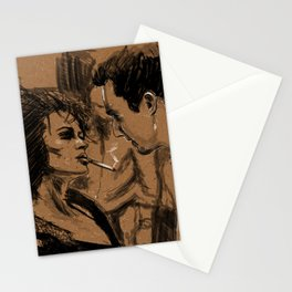 Marla & Tyler doodle Stationery Cards