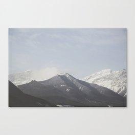 Ombre Peaks Canvas Print