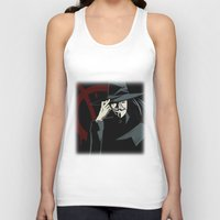vendetta Tank Tops featuring V for Vendetta (e1) by Ezgi Kaya
