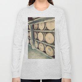 Kentucky Bourbon Barrels Color Photo Long Sleeve T-shirt